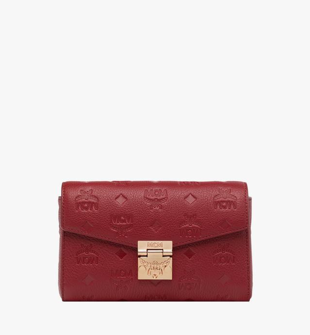 Millie Flap Crossbody in Monogram Leather