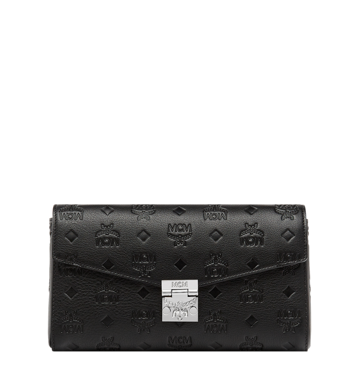 Mcm Millie Flap Crossbody in Monogram Leather