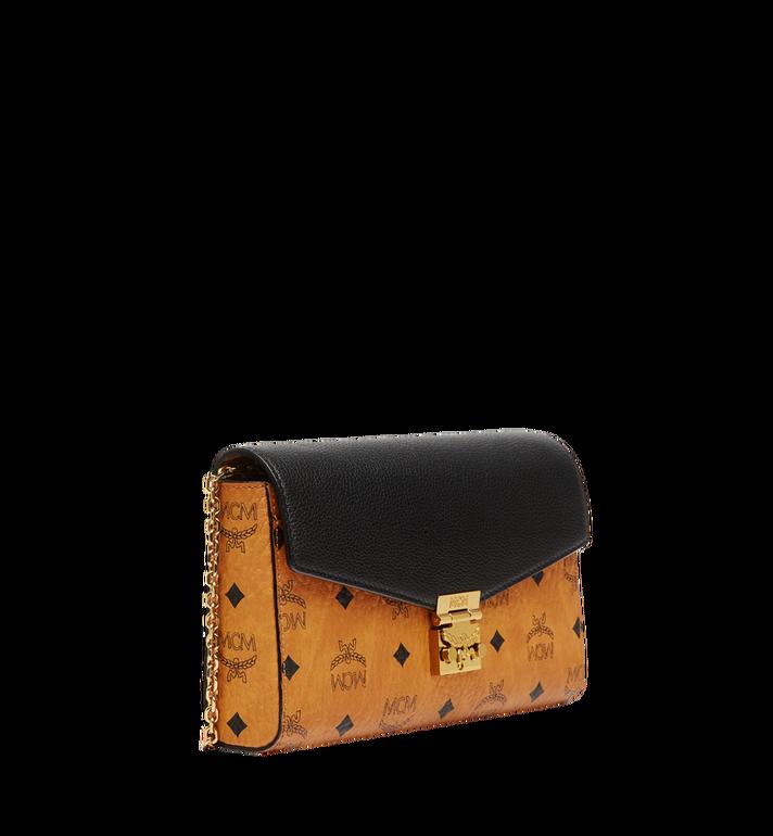 MCM Millie Flap Crossbody in Visetos Leather Block  MYZ8AME22BK001 Alternate View 2