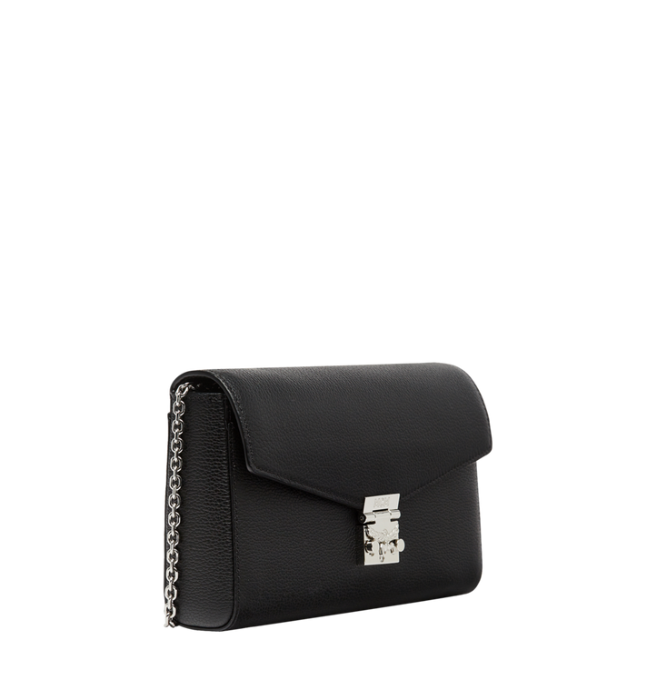 MCM Millie Flap Crossbody in Grained Leather Black MYZ8AME50BK001 Alternate View 2