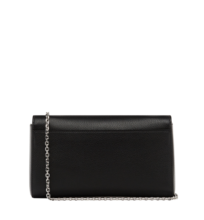 MCM Millie Flap Crossbody in Grained Leather Black MYZ8AME50BK001 Alternate View 4