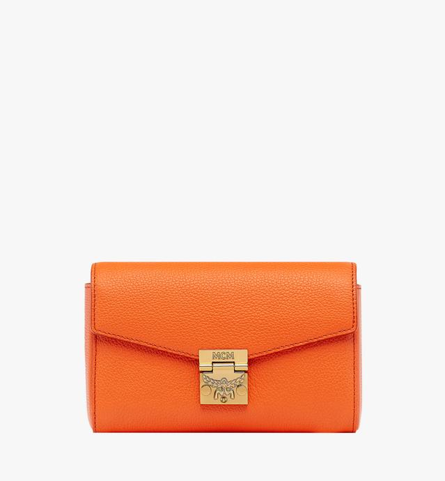 Millie Flap Crossbody in Grained Leather