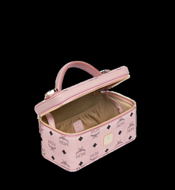 MCM Rockstar Vanity Case in Visetos Original Pink MYZ8AVI01PZ001 Alternate View 5