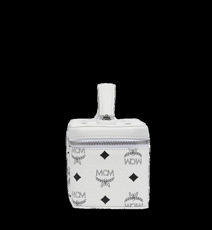 MCM Rockstar Vanity Case in Visetos Original White MYZ8AVI01WT001 Alternate View 3