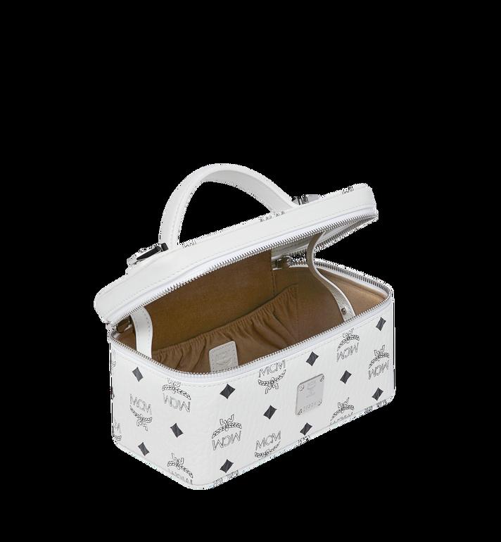 MCM Rockstar Vanity Case in Visetos Original White MYZ8AVI01WT001 Alternate View 5