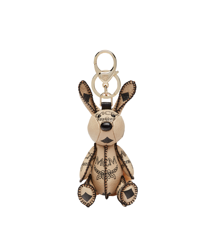 MCM MCM Zoo Rabbit Charm in Visetos Alternate View