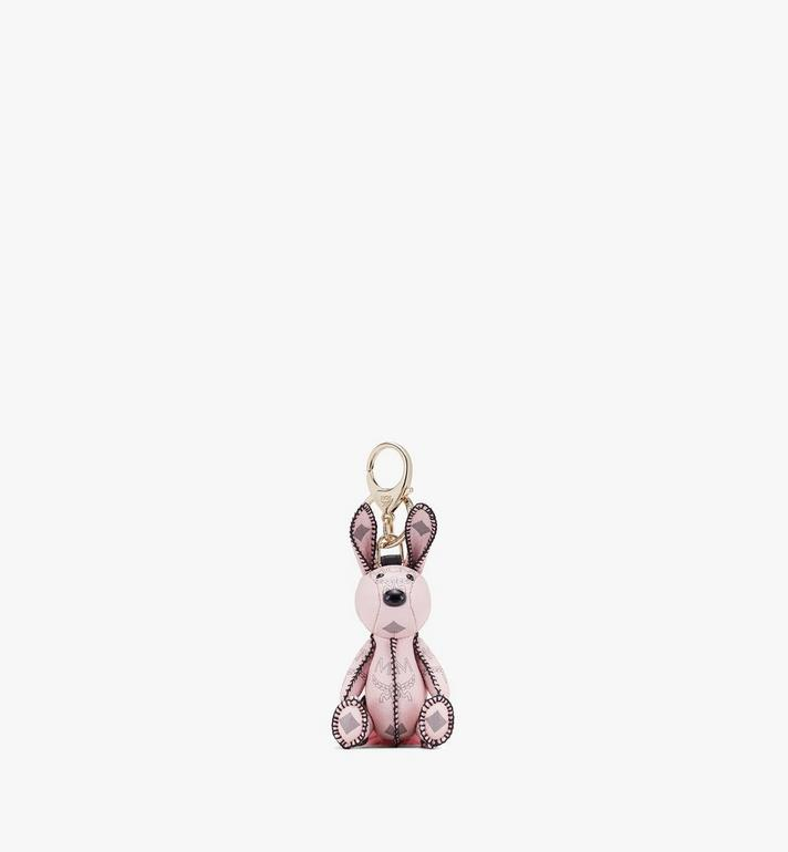 MCM Visetos 系列的 MCM Zoo Rabbit 吊飾 Pink MYZ8AVI38QH001 Alternate View 1