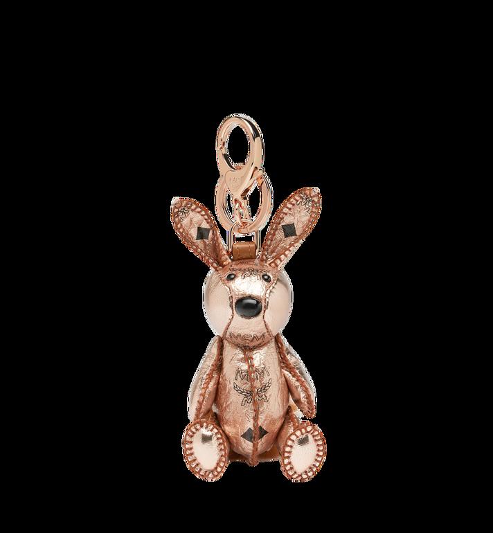MCM MCM Zoo Rabbit Charm in Visetos Alternate View