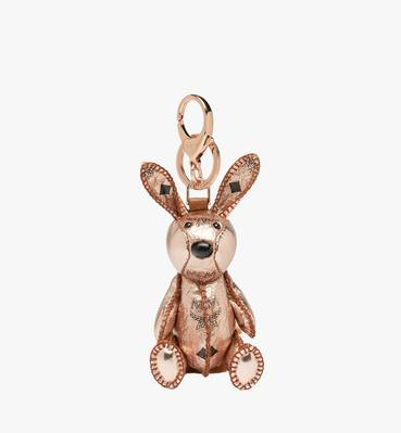 MCM Zoo Rabbit Charm in Visetos