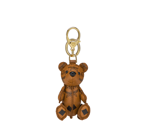 พวงกุญแจห้อยกระเป๋ารูปหมี MCM Zoo Bear ลาย Visetos