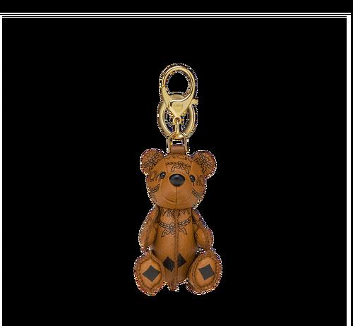 MCM Visetos 可愛小熊鑰匙圈
