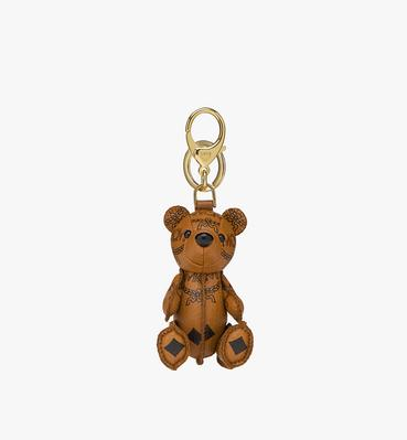 MCM Zoo Bear Charm in Visetos