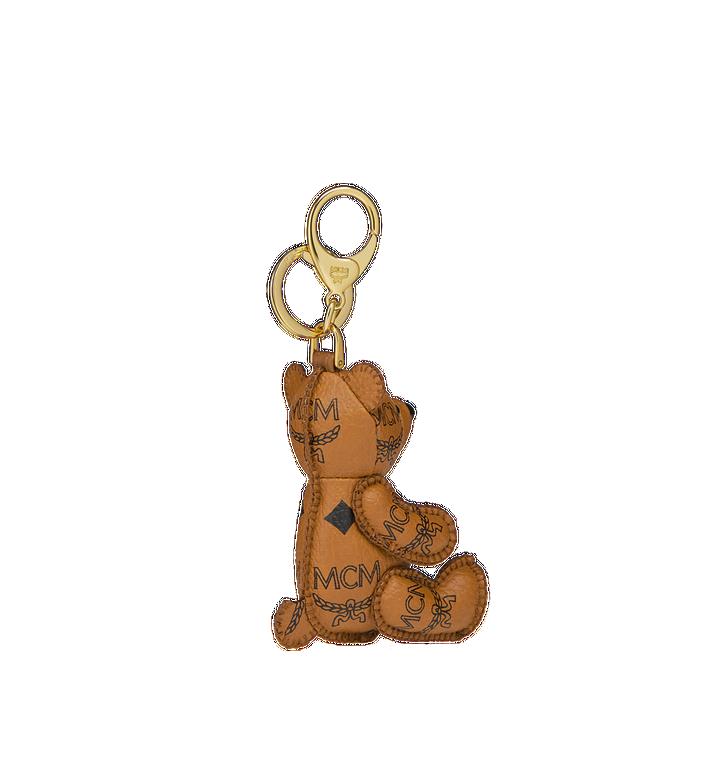 MCM MCM Visetos 可愛小熊鑰匙圈 Cognac MYZ8AXL06CO001 Alternate View 2