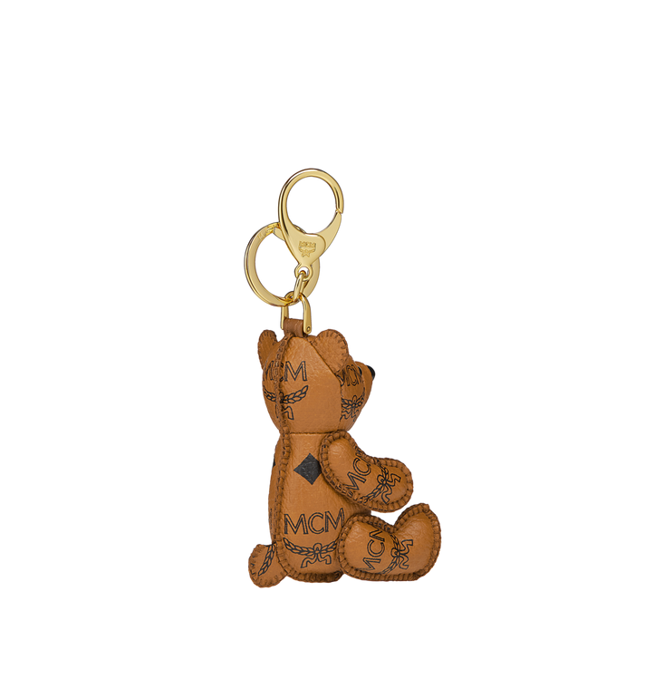 MCM MCM Zoo Bear Charm in Visetos Cognac MYZ8AXL06CO001 Alternate View 2