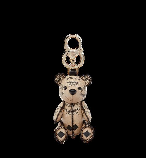Visetos皮革MCM Zoo Bear 幸運吊飾