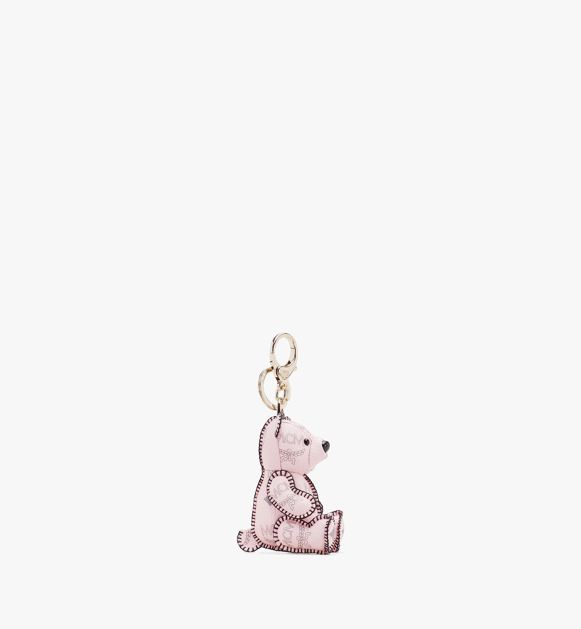 MCM Visetos 系列的 MCM Zoo Bear 吊飾 Pink MYZ8AXL06QH001 Alternate View 2