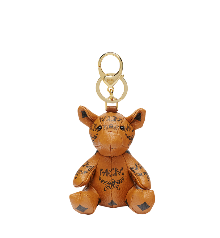 MCM MCM Visetos 動物園小豬吊飾 Cognac MYZ8AXL07CO001 Alternate View 1