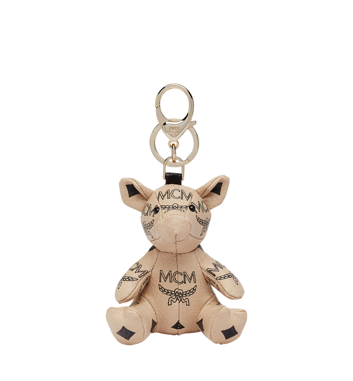 MCM MCM Zoo Pig Charm in Visetos Alternate View