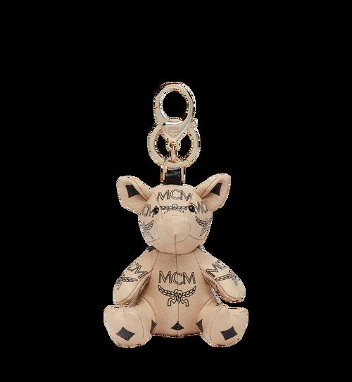 Visetos 皮革 MCM Zoo Pig Charm 幸運吊飾