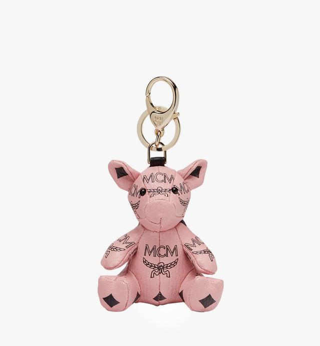 MCM Zoo Pig Charm in Visetos