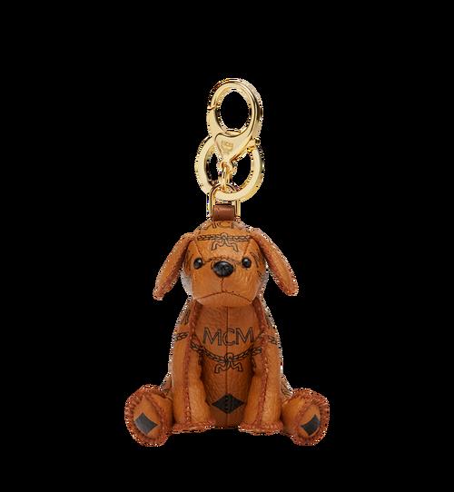 MCM Visetos 可愛小狗鑰匙圈