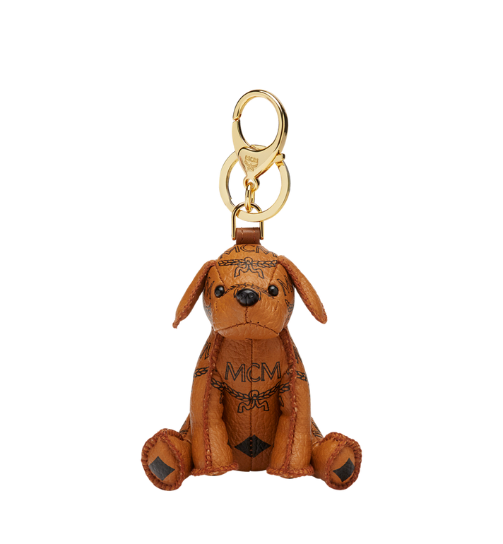 MCM MCM Zoo Dog Charm in Visetos Alternate View