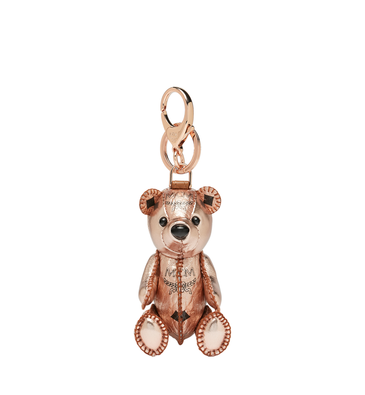 MCM MCM Zoo Bear Charm in Visetos Alternate View 1