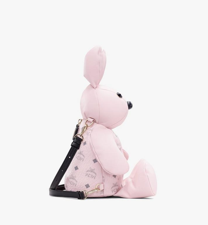 MCM Visetos 皮革 MCM Zoo Rabbit 背包 Pink MYZ8AXL17QH001 Alternate View 2