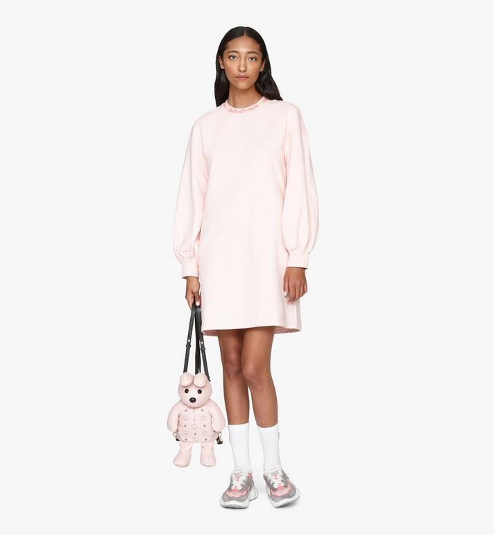 MCM MCM Zoo Rabbit Backpack in Visetos Pink MYZ8AXL17QH001 Alternate View 5