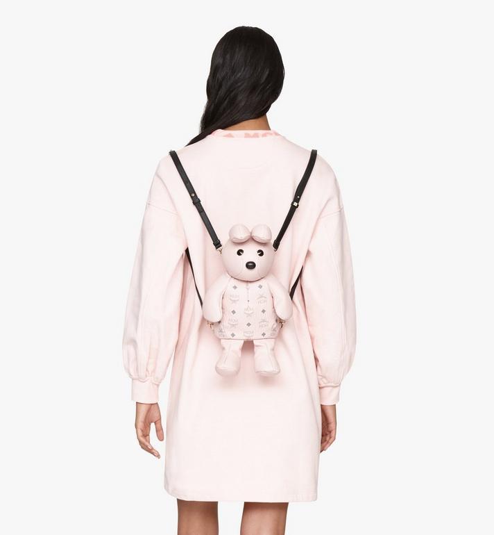MCM MCM Zoo Rabbit Backpack in Visetos Pink MYZ8AXL17QH001 Alternate View 6