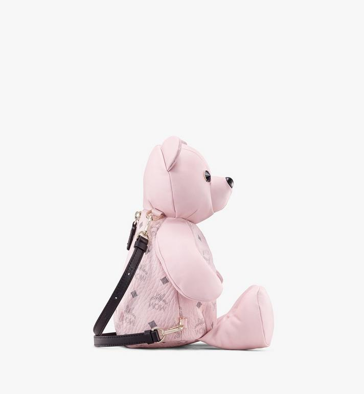 MCM MCM Zoo Bear Backpack in Visetos Pink MYZ8AXL27QH001 Alternate View 2