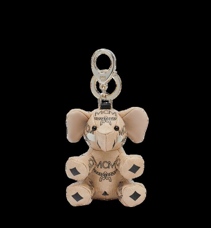 Mcm Zoo Elephant Keyring - Neutrals