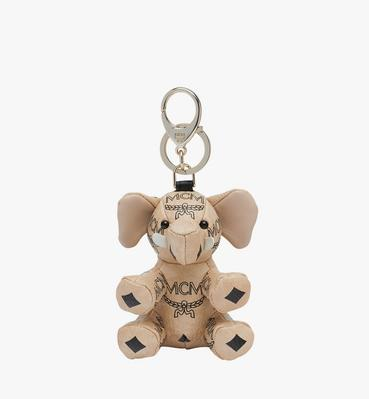 MCM Zoo Elephant Charm in Visetos