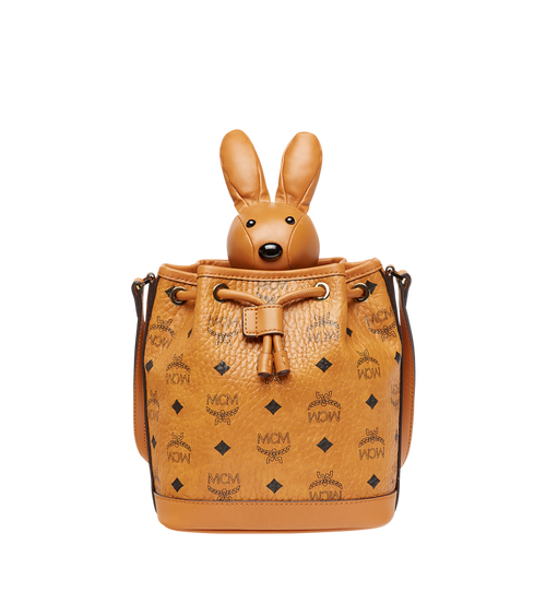 MCM Zoo Rabbit Drawstring in Visetos