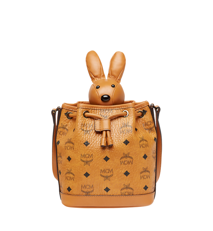MCM MCM Zoo Rabbit Drawstring in Visetos Alternate View
