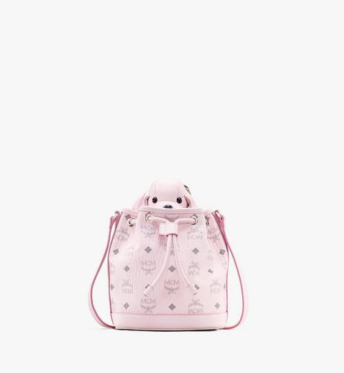 MCM Zoo Dog Drawstring Bag in Visetos