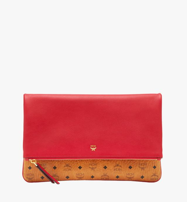 Corina Crossbody-Clutch in Visetos-Colorblock-Leder