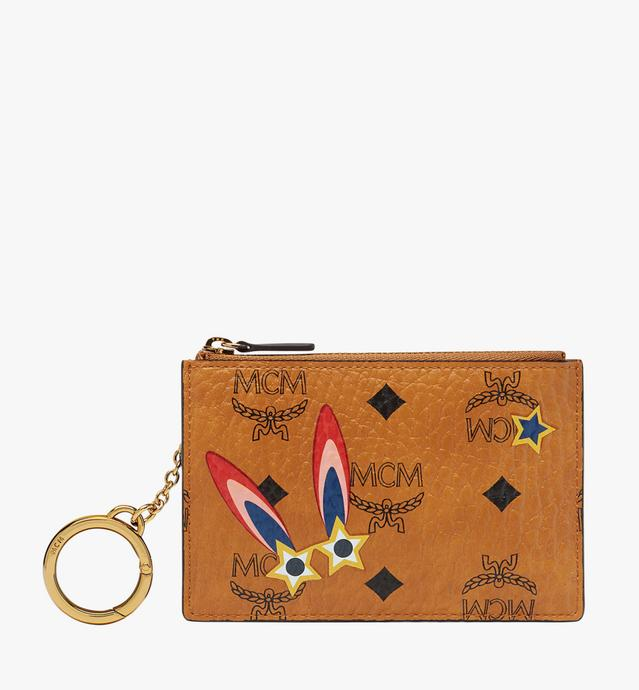 Star Eyed Bunny Keycase in Visetos