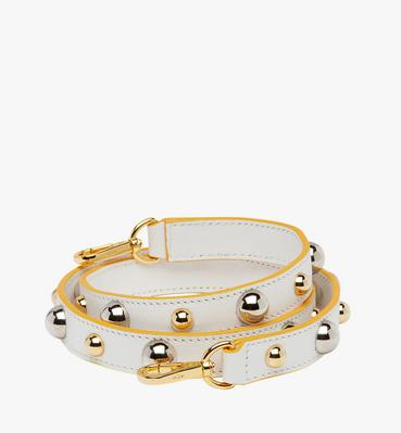 Patricia Studded Shoulder Strap in Nappa Leather