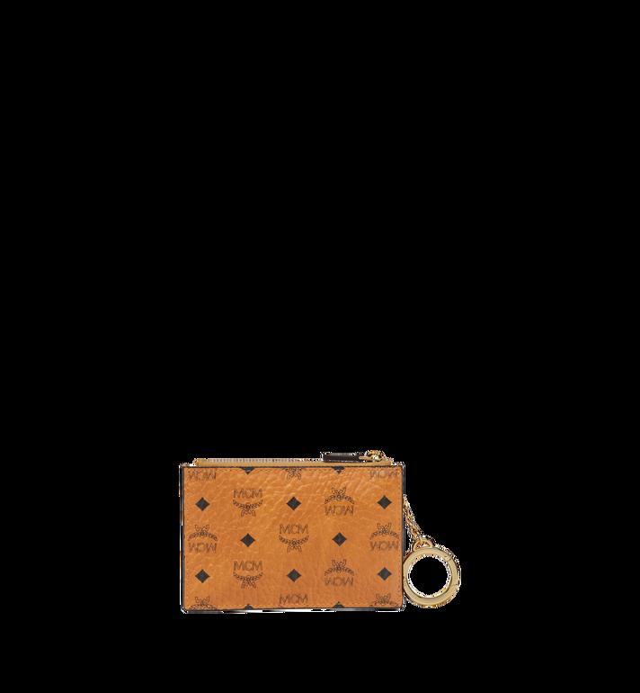 MCM กระเป๋าพวงกุญแจลาย Visetos Original Cognac MYZ8SVI06CO001 Alternate View 3