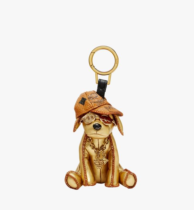 Golden Dog Animal Charm