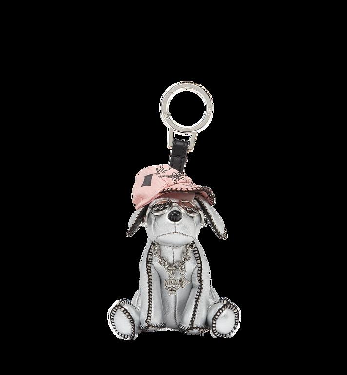 MCM Silver Dog Animal Charm Alternate View