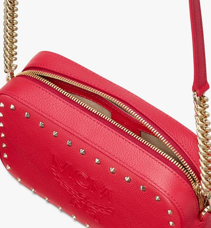 MCM Chanswell Camera Bag in Park Avenue Leather Red MYZ9ACZ80RU001 Alternate View 4