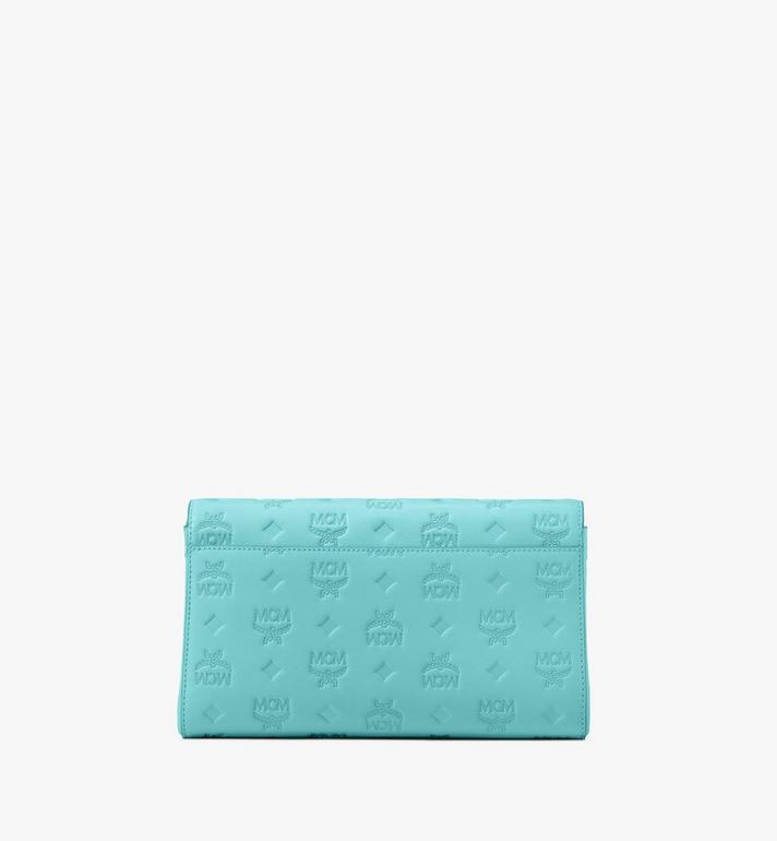MCM Millie Crossbody-Tasche aus Leder mit Monogramm Blue MYZ9AME12H3001 Alternate View 2