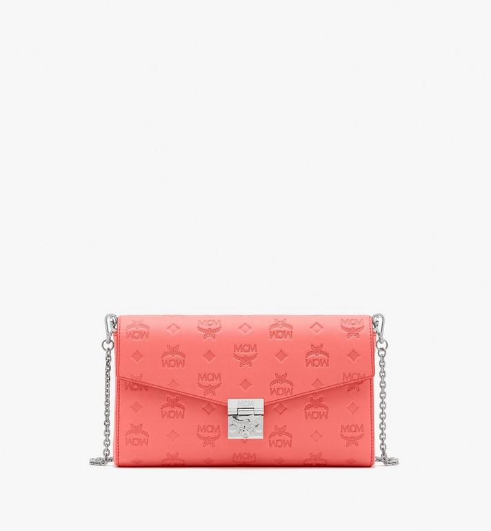 MCM Millie Crossbody-Tasche aus Leder mit Monogramm Alternate View