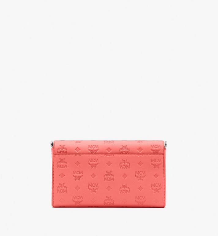 MCM Millie Crossbody-Tasche aus Leder mit Monogramm Pink MYZ9AME12O3001 Alternate View 2