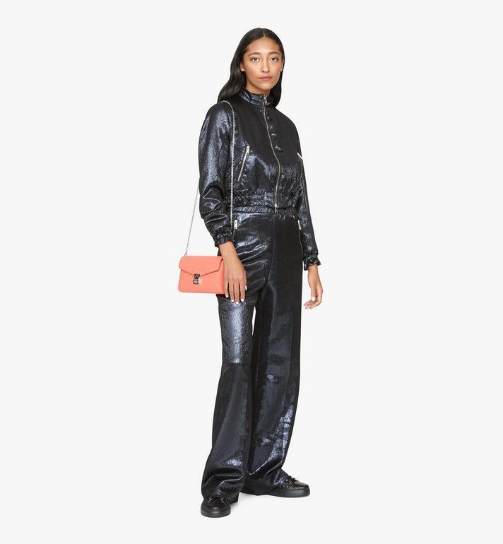 MCM Millie Crossbody-Tasche aus Leder mit Monogramm Pink MYZ9AME12O3001 Alternate View 4