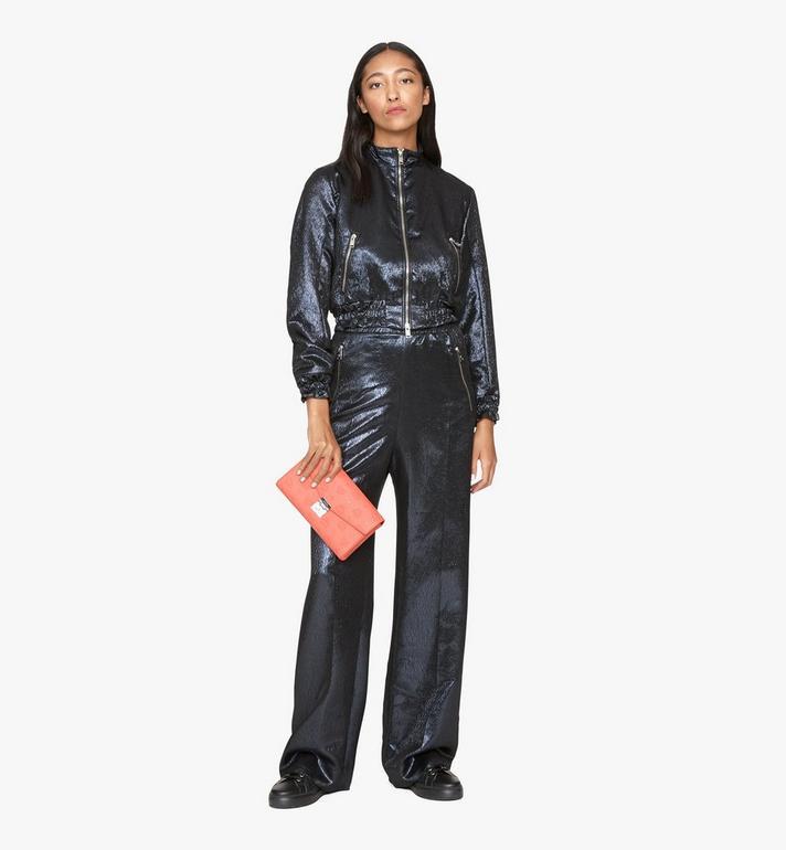 MCM Millie Crossbody-Tasche aus Leder mit Monogramm Pink MYZ9AME12O3001 Alternate View 5