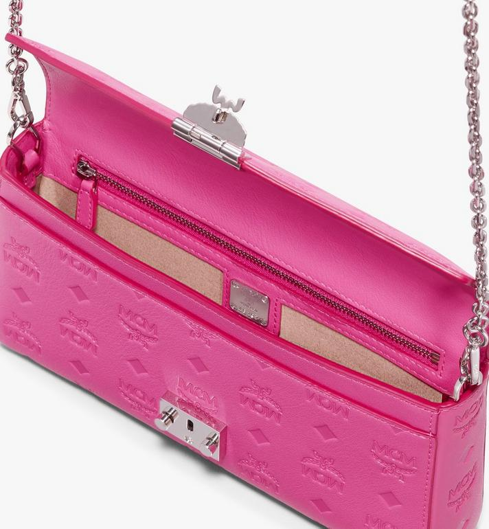 MCM Millie Crossbody in Monogram Leather Pink MYZ9AME12QS001 Alternate View 3