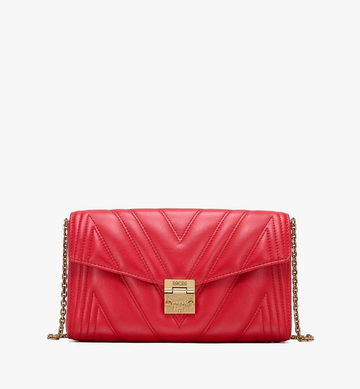 MCM Millie Crossbody Bag in Quilted Leather Alternate View